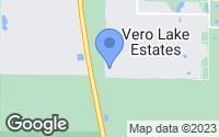Map of Vero Beach, FL