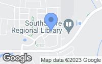 Map of Sun City Center, FL