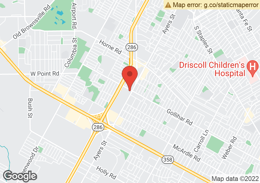 Google Map of 4501 AYERS ST