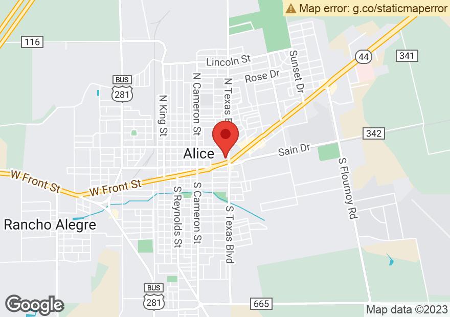 Google Map of 1055 E MAIN ST