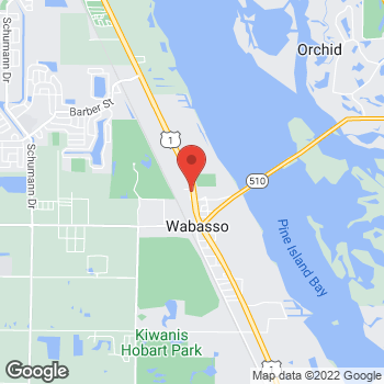 Map of Anand Haryani, MD at 8745 US Hwy 1, Sebastian, FL 32958