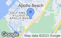Map of Apollo Beach, FL