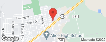 Map of 2041 E Main St in Alice