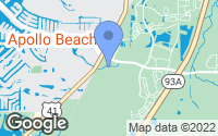 Map of Apollo Beach, FL