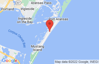 Map of Port Aransas