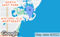 Map of St. Petersburg, FL