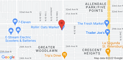 Directions to Rollin' Oats Cafe