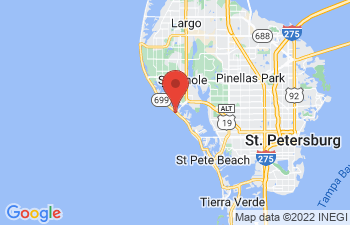 Map of Madeira Beach