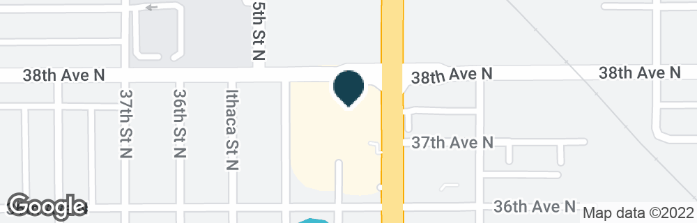 Google Map of3700 34TH ST N