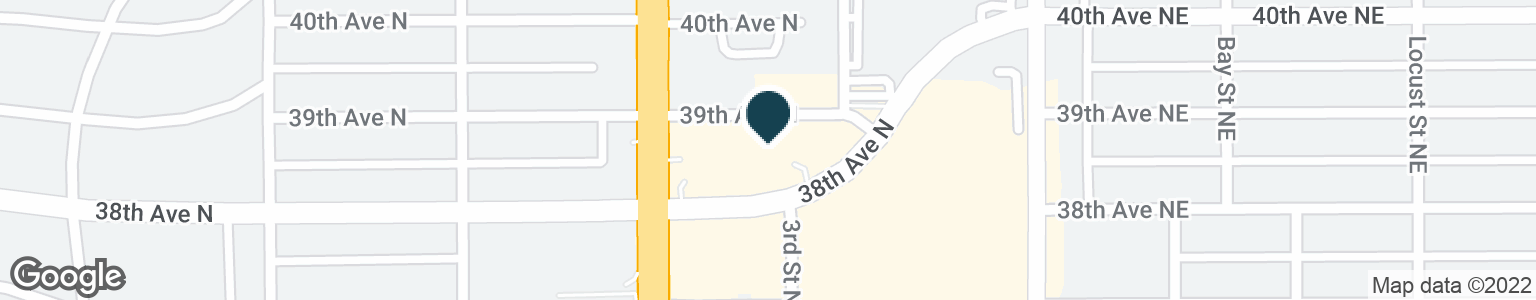 Google Map of3851 4TH ST N