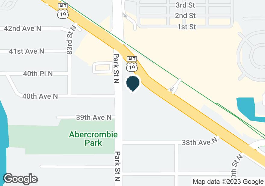 Google Map of3994 TYRONE BLVD N