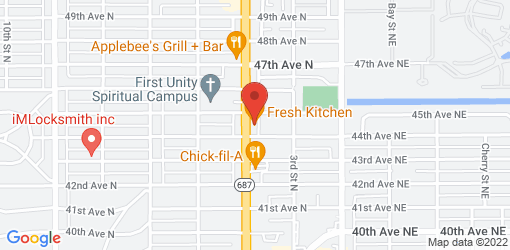 Directions to Fresh Kitchen