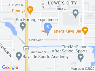 Map of Kelloggs Kennel Dog Boarding options in St Petersburg | Boarding