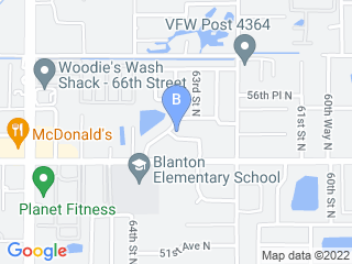 Map of Longo Pet Concierge Dog Boarding options in St. Petersburg | Boarding