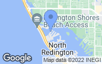 Map of Redington Shores, FL