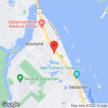 Map of Gary Silverman, MD at 801 Wellness Way, Sebastian, FL 32958