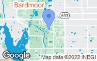 Map of Pinellas Park, FL