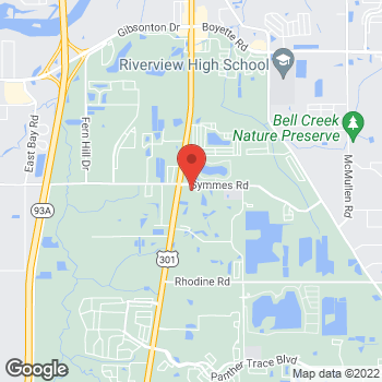 Map of Hair Cuttery at 11442 South Us Highway 301, Riverview, FL 33569