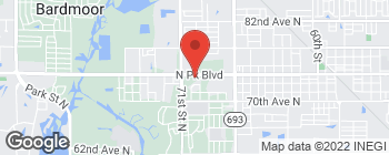 Map of 6950 Park Blvd N in Pinellas Park
