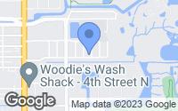 Map of Saint Petersburg, FL