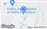Map of Lithia, FL