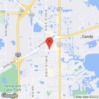 Map of Bankers Life - Closed in St Petersburg, FL at 801 94th Ave N, St Petersburg, FL 33702