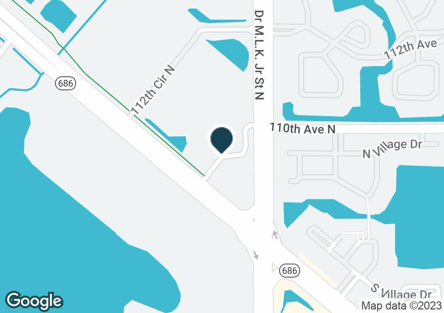 Google Map of10801 ROOSEVELT BLVD N