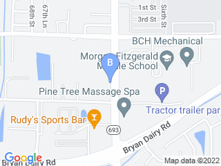 Map of Advantage Pet Center Dog Boarding options in Largo | Boarding