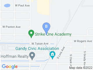 Map of South Tampa Puppy Palace Dog Boarding options in Tampa | Boarding