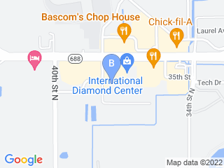 Map of What A Dog Play Center Inc Dog Boarding options in Clearwater | Boarding