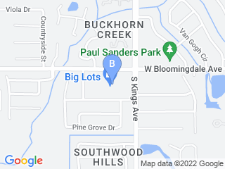 Map of Astro Pet Sitters and Dog Walkers Dog Boarding options in Brandon | Boarding