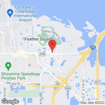 Map of Panera Bread at 2285 Ulmerton Road, Clearwater, FL 33762