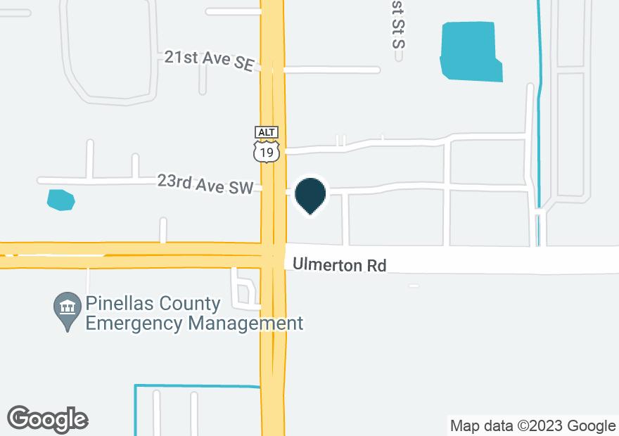 Google Map of10697 ULMERTON RD