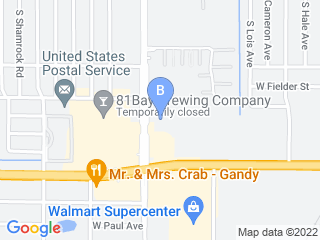 Map of Bayshore Pet Resort Dog Boarding options in Tampa | Boarding