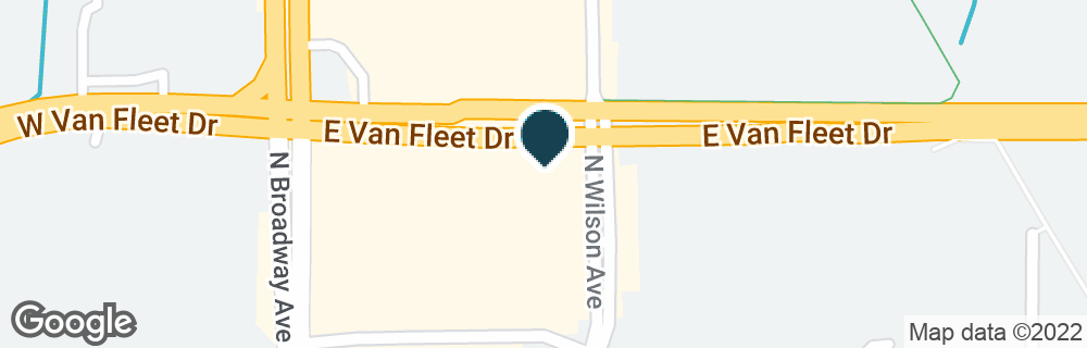 Google Map of395 E VAN FLEET DR