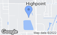 Map of Clearwater, FL
