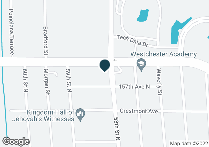 Google Map of2991 ROOSEVELT BLVD