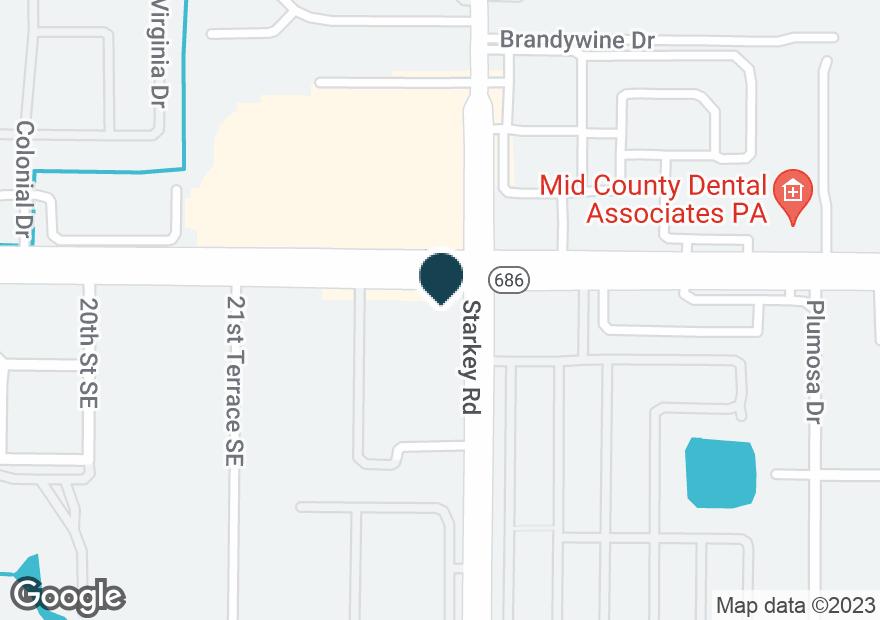 Google Map of2295 E BAY DR