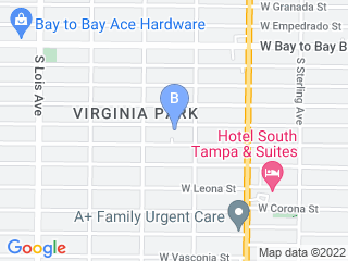 Map of First Professional Pet Sitters Dog Boarding options in Tampa | Boarding