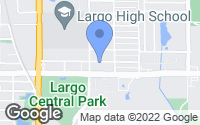 Map of Largo, FL