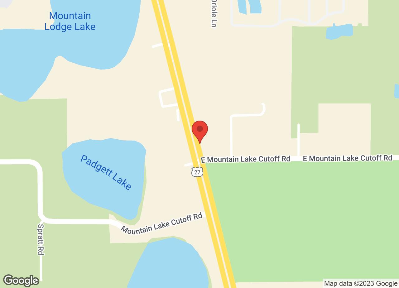 Google Map of VCA Lake Wales Animal Hospital