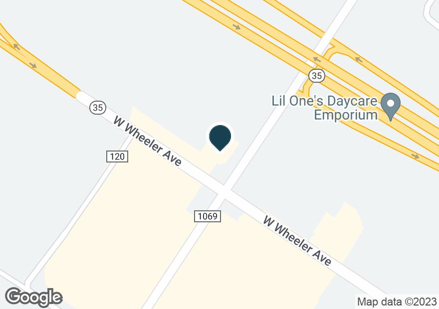 Google Map of2702 W WHEELER AVE