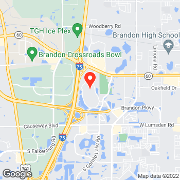 Map of LOFT at 403 Brandon Town Center Dr, Brandon, FL 33511