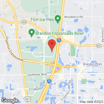 Map of Bass Pro Shops at 10501 Palm River Rd, Tampa, FL 33619