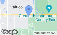 Map of Valrico, FL