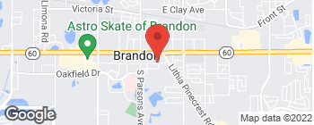 Map of 216 E Robertson St in Brandon