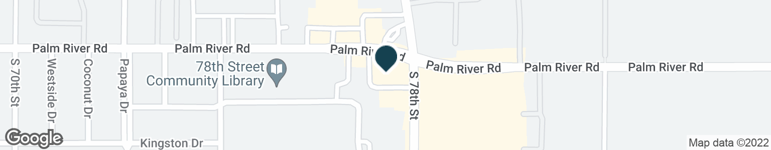 Google Map of1001 S 78TH ST