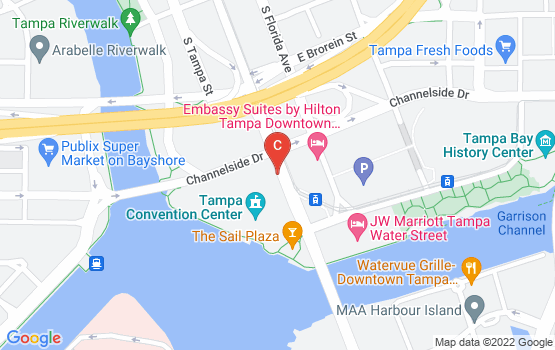 Tampa Convention Center Map