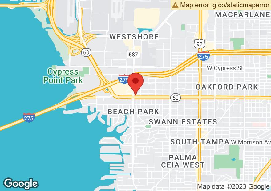 Google Map of 4651 W KENNEDY BLVD