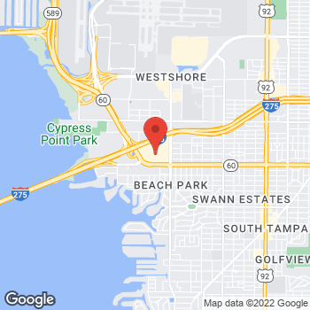 Map of location-map at 334 Westshore Plaza, Tampa, FL 33609